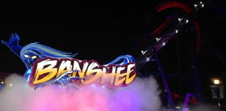 Banshee Media Day at Kings Island!
