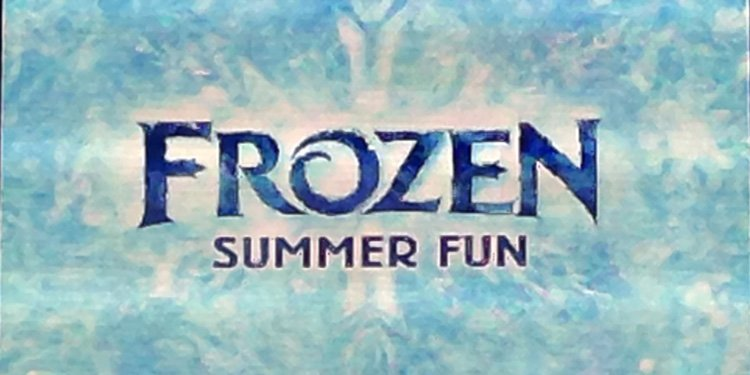 Frozen Summer Fun Event at WDW!