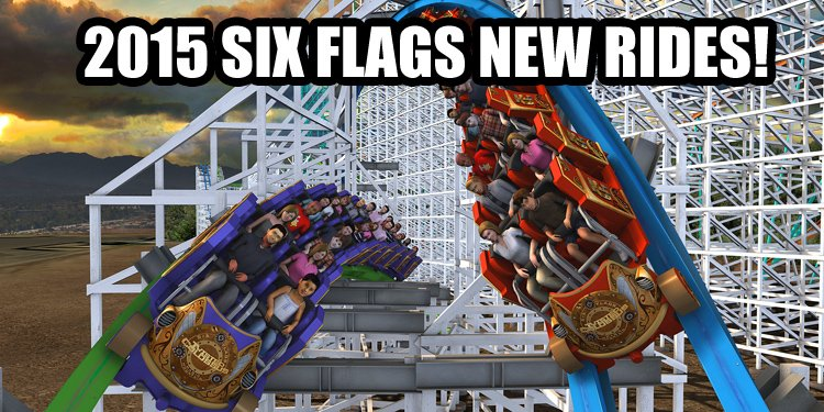 All the 2015 Six Flags Videos!
