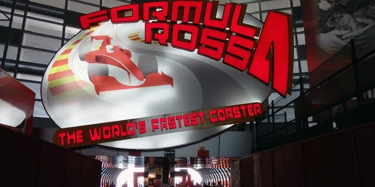 Report from Ferrari World in the UAE!