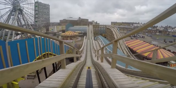 POV Video of Dreamland's Scenic Railway!