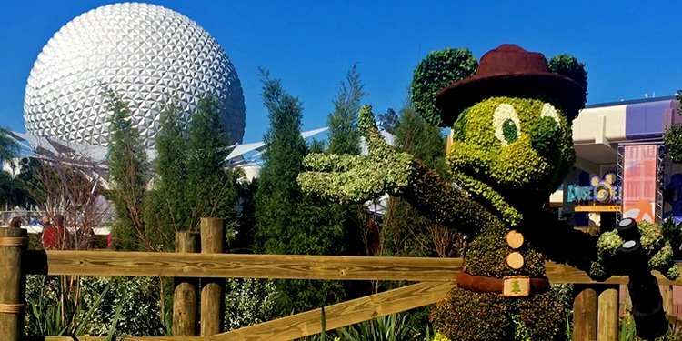Epcot's International Flower & Garden Festival!