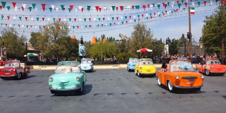 POV Video of Luigi's Rollickin' Roadsters!
