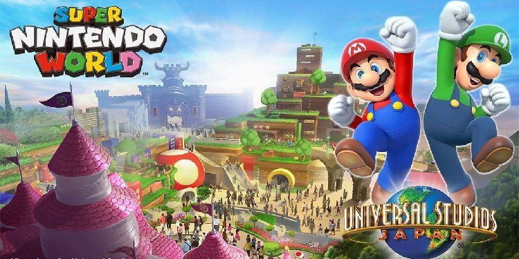 Super Nintendo World Coming in 2020!