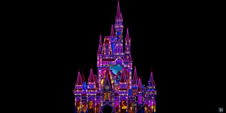 New Fireworks Show for Florida's Magic Kingdom!