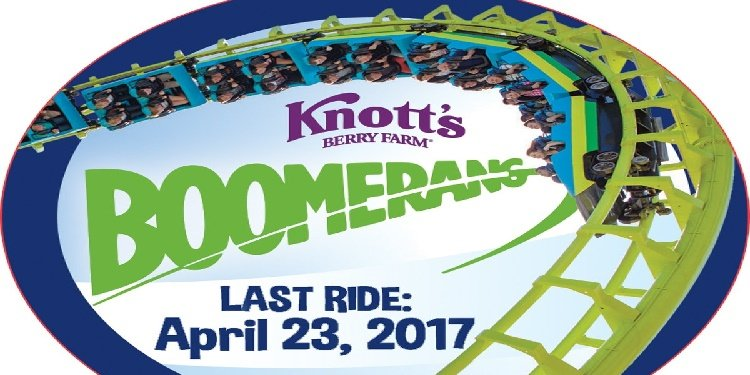 Take Your Last Ride on Knott's Boomerang!