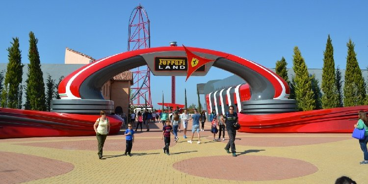 Report from Ferrari Land, Spain!