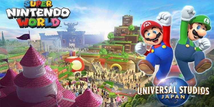 Preview of Super Nintendo World!