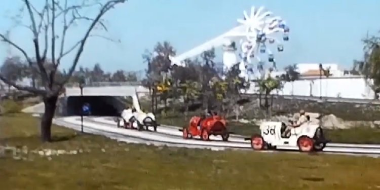 Retro California's Great America Film Footage!