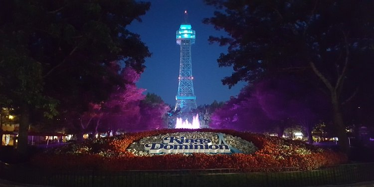 A Great Night & Day at Kings Dominion!