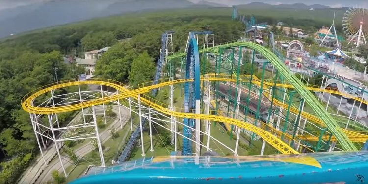POV Video of Big Boom, Nasu Highland!