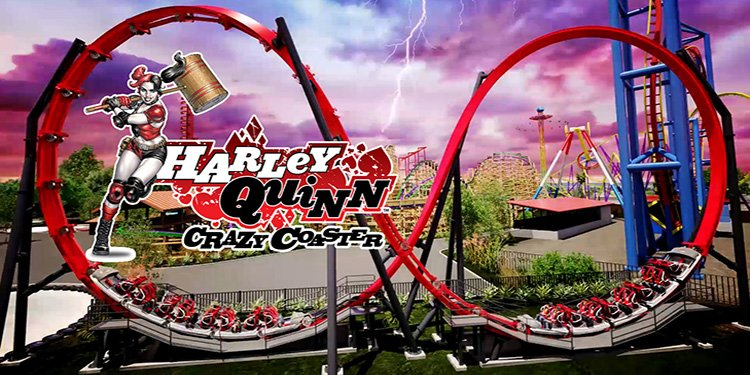 Harley Quinn Crazy Coaster for 2018!