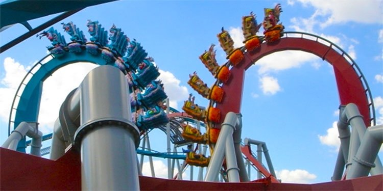 The Last Day for Dueling Dragons at IOA!