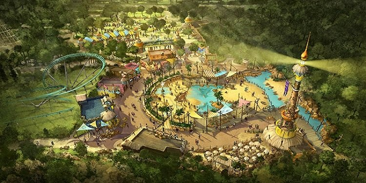 New Port Laguna at Toverland!