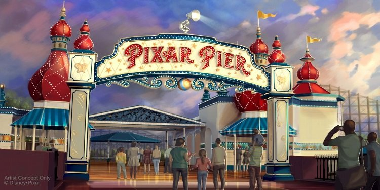 Pixar Pier to Open on June 23rd!