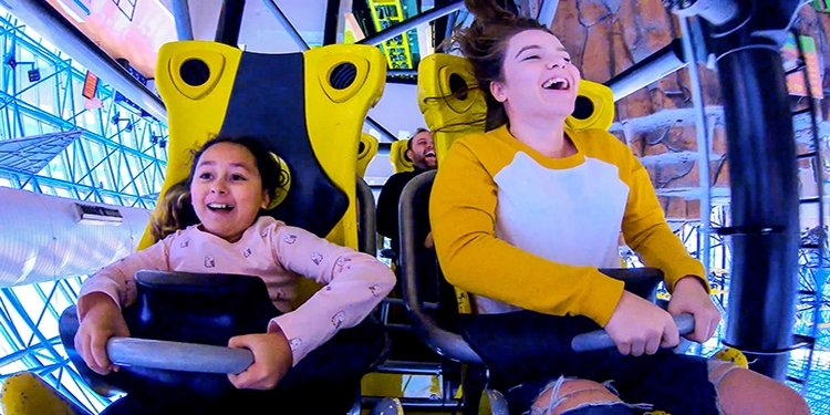 Take a Ride on Adventuredome's El Loco!