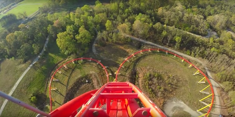 POV Video of Five Kings Dominion Coasters!