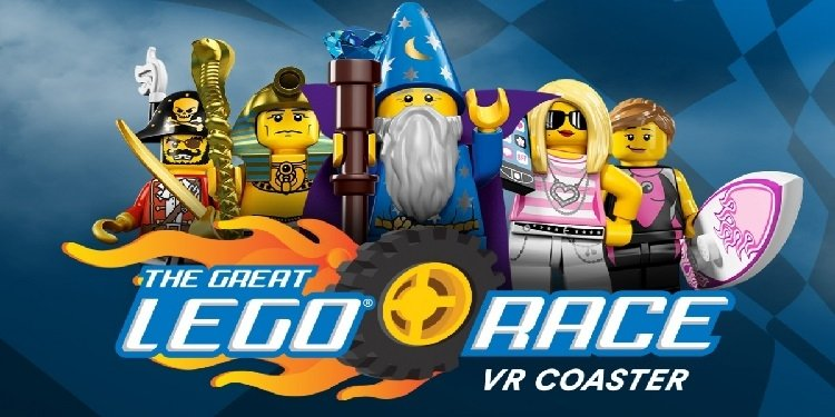 Grand Opening: The Great Lego Race VR Coaster!
