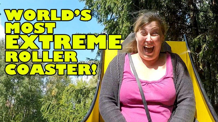 World's Most EXTREME Coaster!