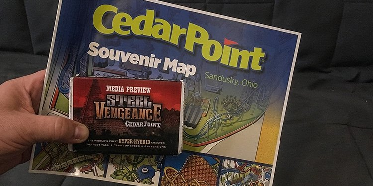 Package Arrives from Cedar Point!