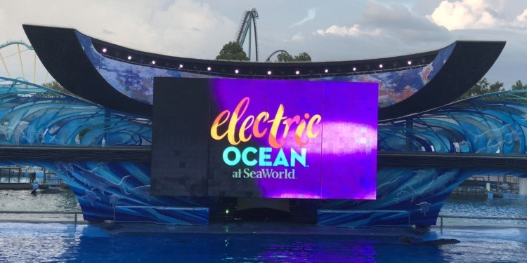 Media Day for Electric Ocean at SeaWorld!