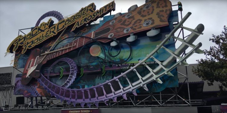 NEW POV Video of Rock 'n' Roller Coaster!