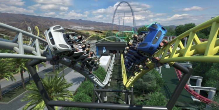 West Coast Racers Coming to Six Flags Magic Mountain!