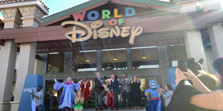 Grand Re-Opening of the World of Disney!