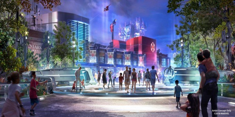 Spider-Man Ride Coming to DCA!