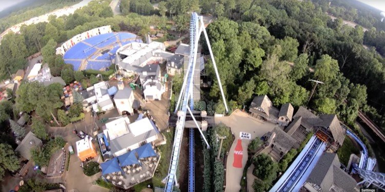 Front-Seat Video of Busch Gardens' Major Coasters!