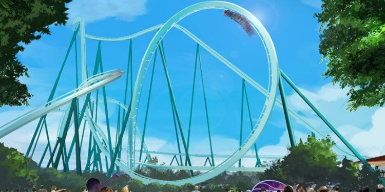 New Coaster Coming to SeaWorld San Diego!