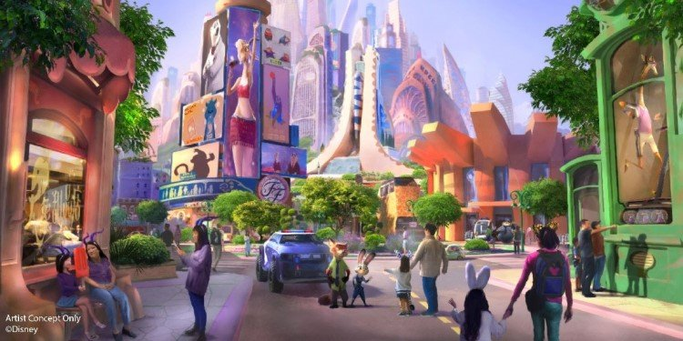 Zootopia Coming to Shanghai Disneyland!