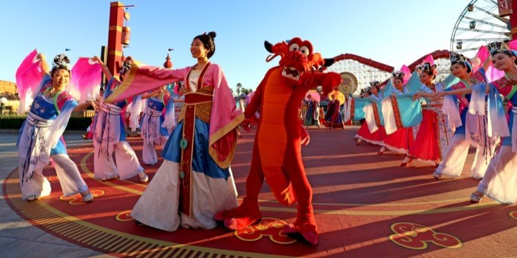 Lunar New Year at Disney California Adventure!