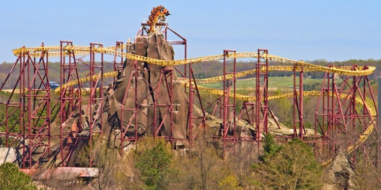 Kings Dominion Announces Removal of Volcano!