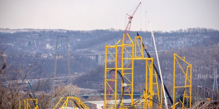 Construction Update on Steel Curtain!
