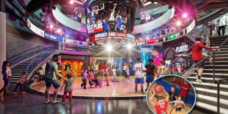 NBA Experience Opens Aug. 12th at Disney Springs!
