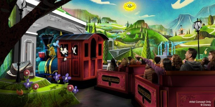 New Ride Coming to Disneyland's Toontown!