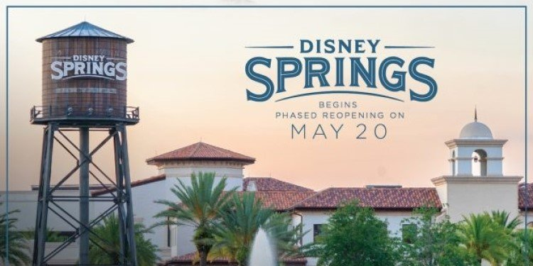 Disney Springs Starts Reopening on May 20th!
