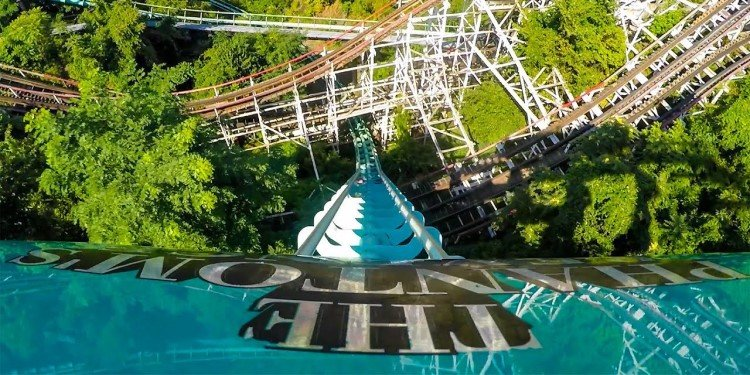 Front-Seat POV of Phantom's Revenge!