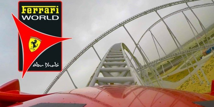 Video of the Coasters at Ferrari World!