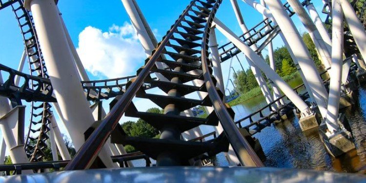 POV of XPress Platform 13 at Walibi Holland!
