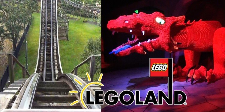 POV Video of the Coasters of Legoland Florida!