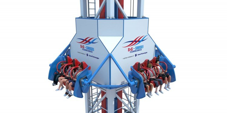 4D Free Spin Seats on a Shot Tower!