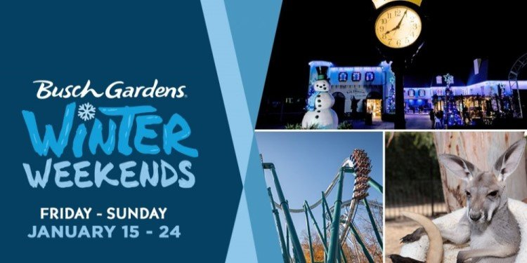 Busch Gardens' New Events & Year-Round Operations!