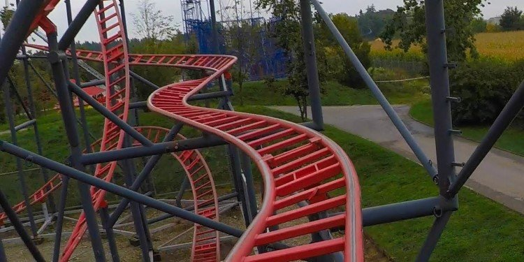 Taking a Spin at Skyline Park, Germany!